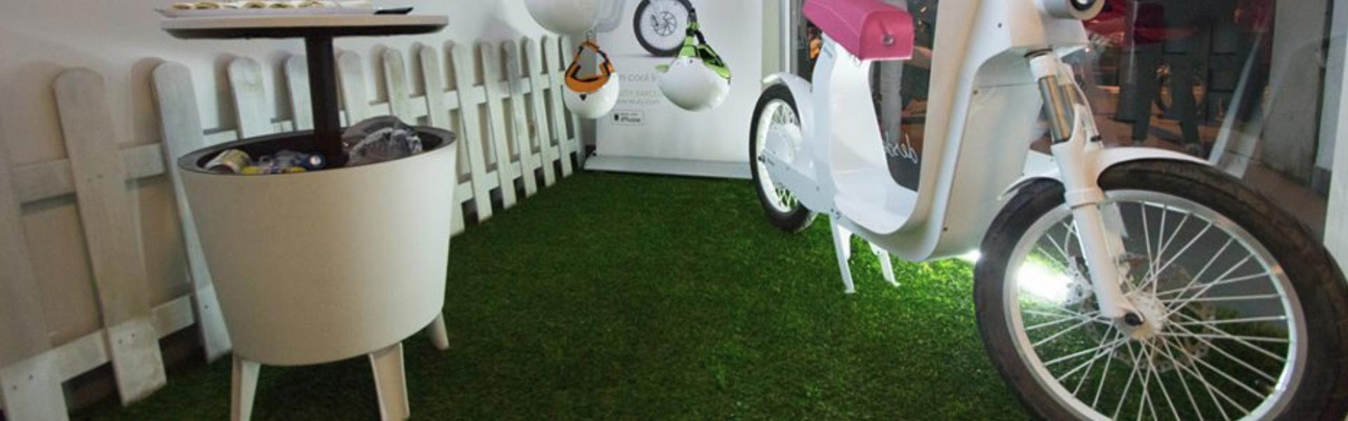 Fake Grass for Exhibitions