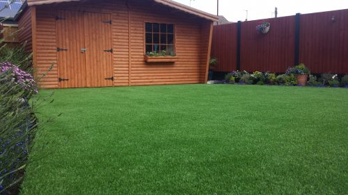 fake lawn installation in glamorgan and south wales