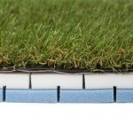 artificial grass foam underlay for balcony