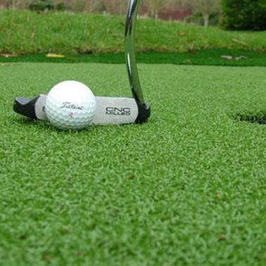 artificial grass for golf putting greens