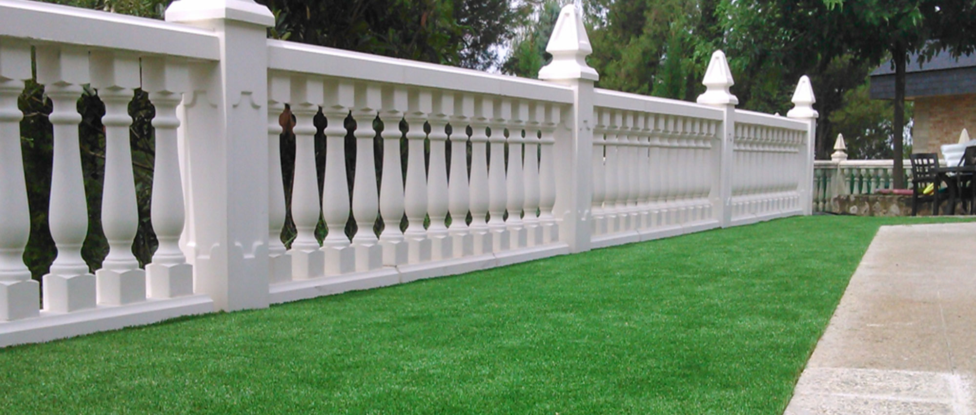 artificial grass for roof garden, balcony or terrace