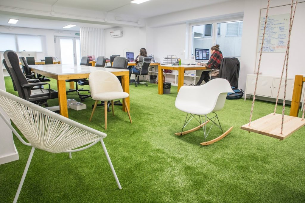 office artificial turf