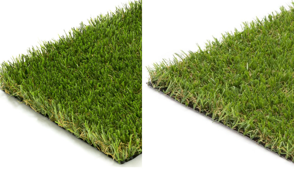 Artificial Grass Pile Density Comparison