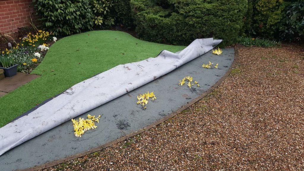 fake grass installation mistakes
