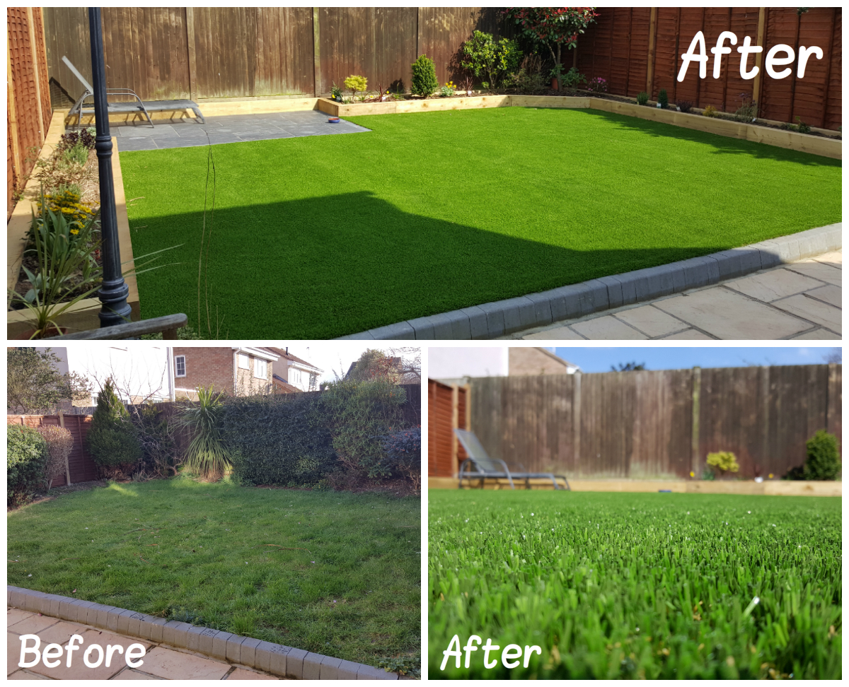 Artificial Grass Transformation 10