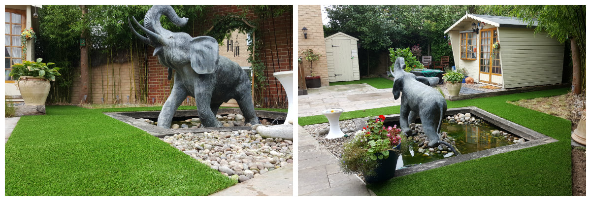 Artificial Grass Transformation 3