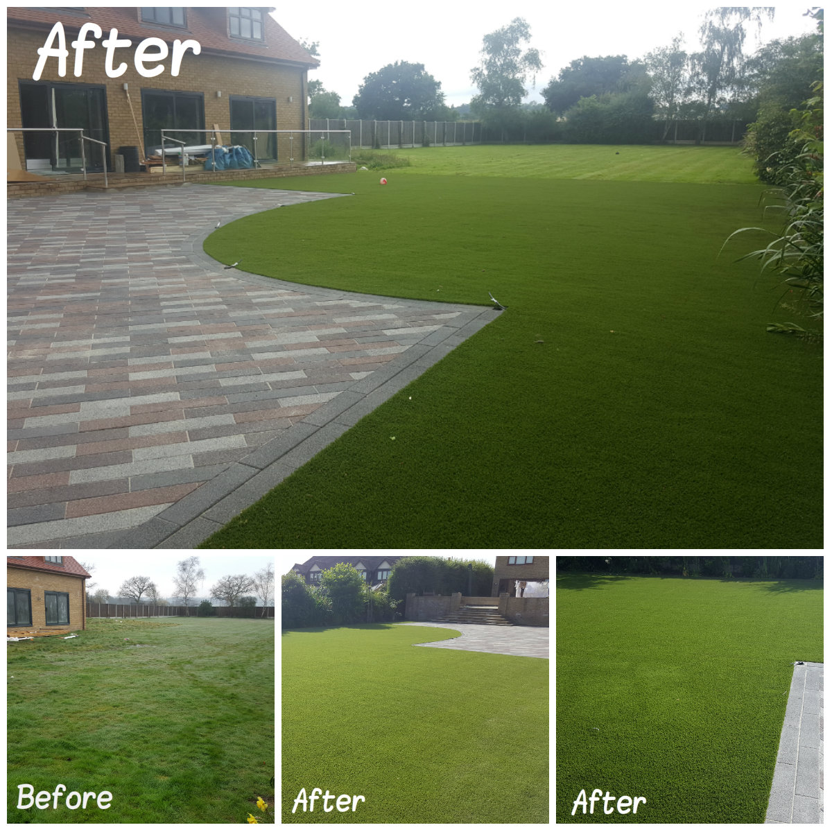 Artificial Grass Transformation 5