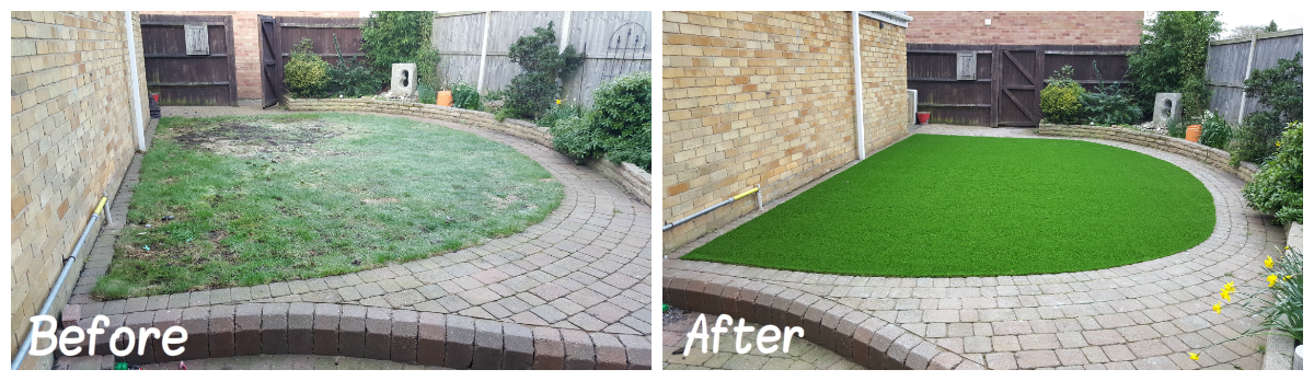 Artificial Grass Transformation 8