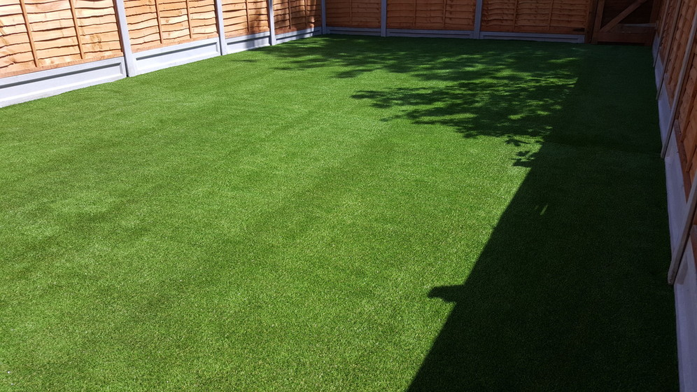 fake lawn installation in yorkshire