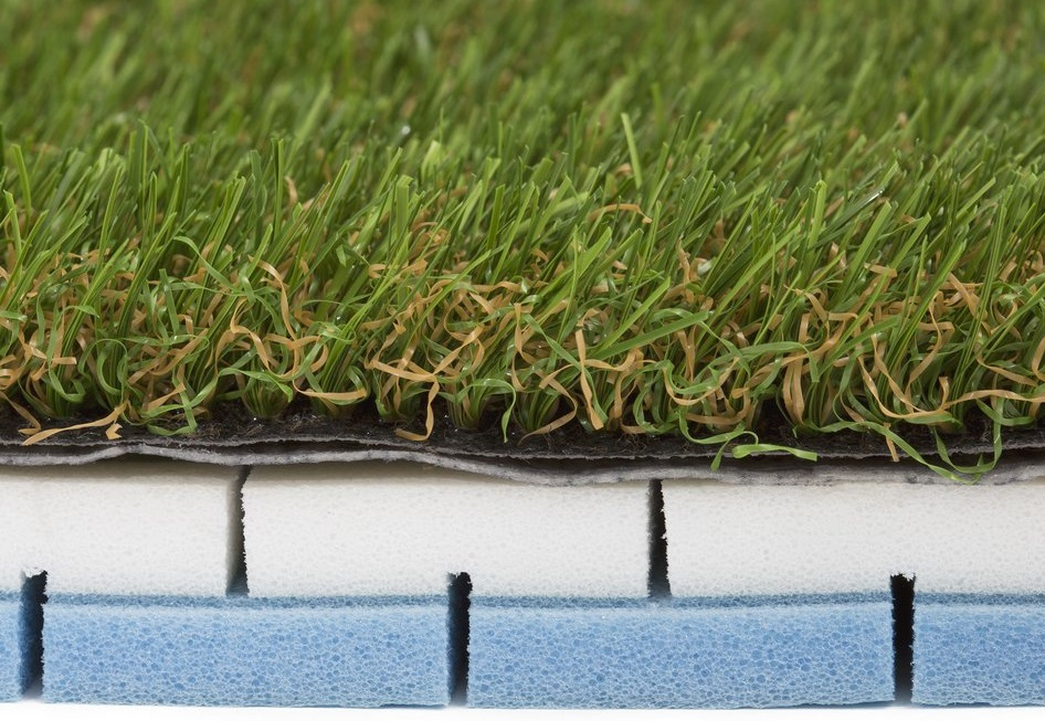 artificial grass foam underlay for commercial and public use
