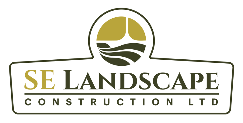 se landscape construction logo