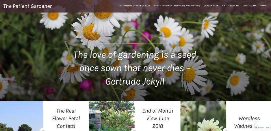 patient gardener