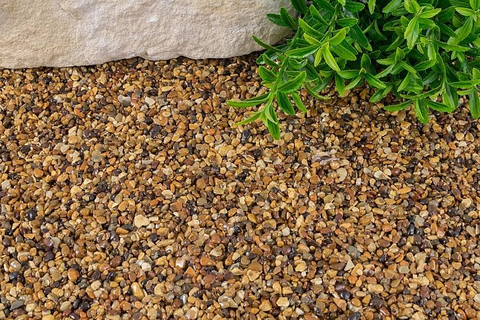 resin bound aggregates