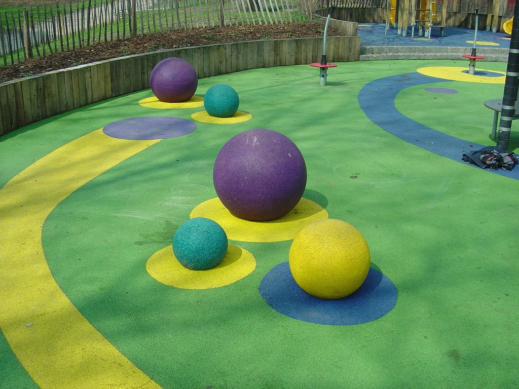 wetpour playground surfacing