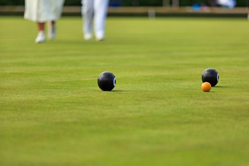 artificial grass bowling green