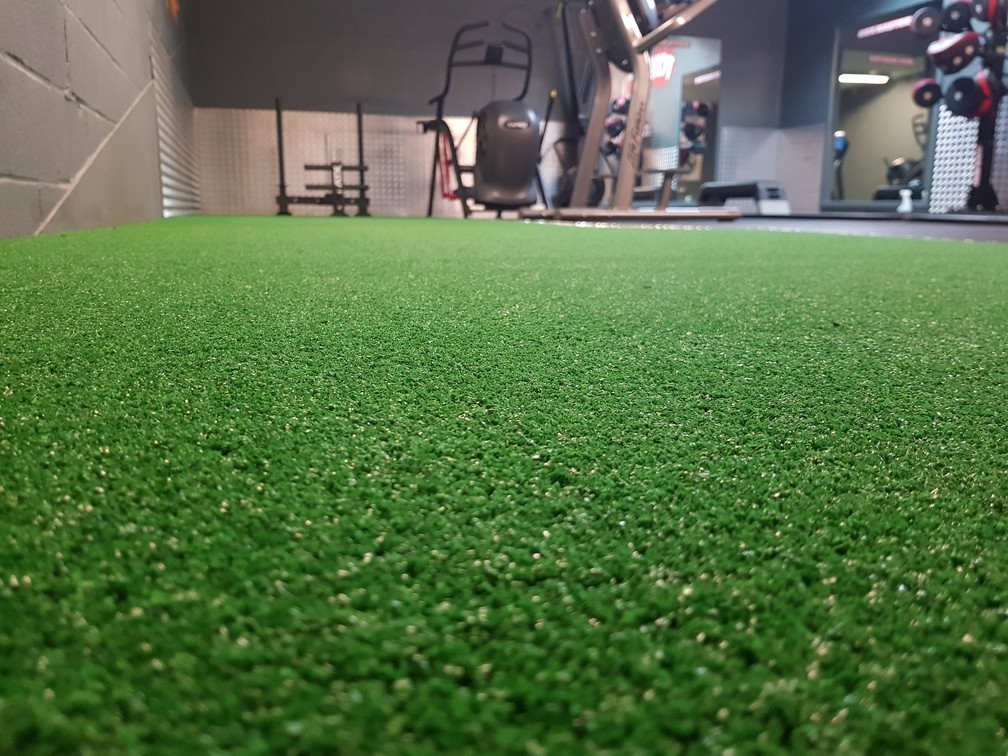artificial grass performance track