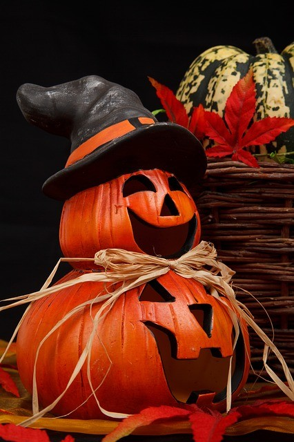 halloween garden ideas