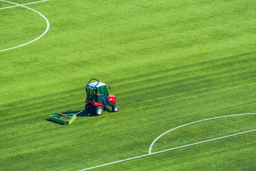 synthetic sports pitch maintenance
