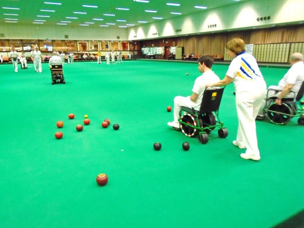 disability bowls
