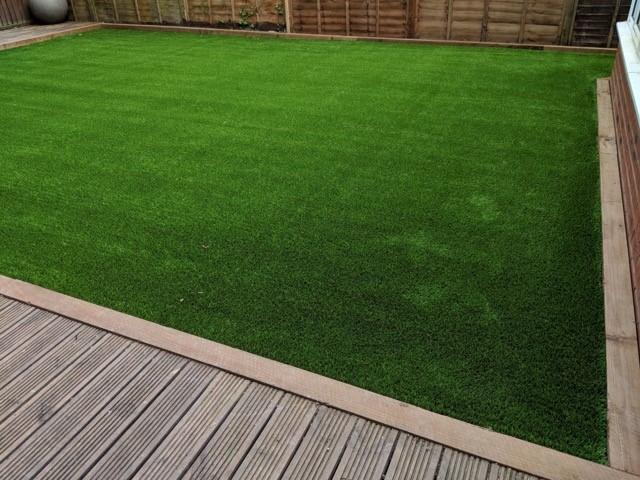 artificial grass transformation in warwickshire