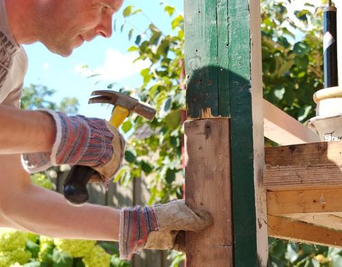 garden shed repairs