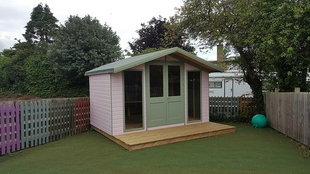 garden summer house shed