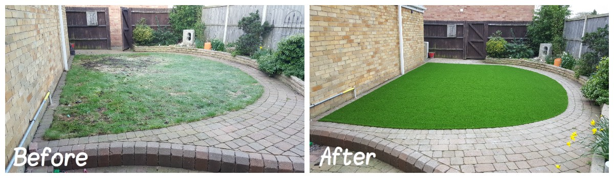 norwich, norfolk artificial grass installation