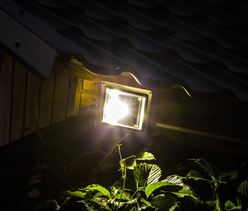 garden floodlight