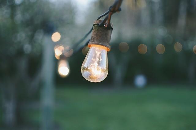 garden string lights