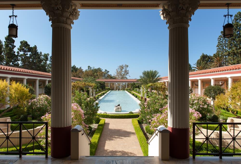 roman garden design