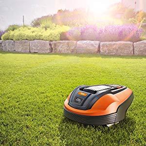 robotic smart garden lawn mower