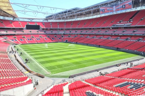 hybrid pitch at wembley stadium