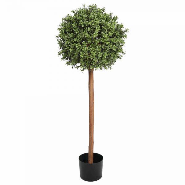 artificial buxus single ball tree 1.2m