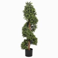 artificial buxus spiral tree 1.2m