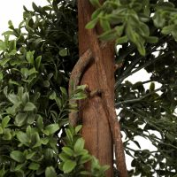 artificial buxus spiral tree 1.2m detail