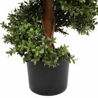 artificial buxus spiral tree 1.5m pot