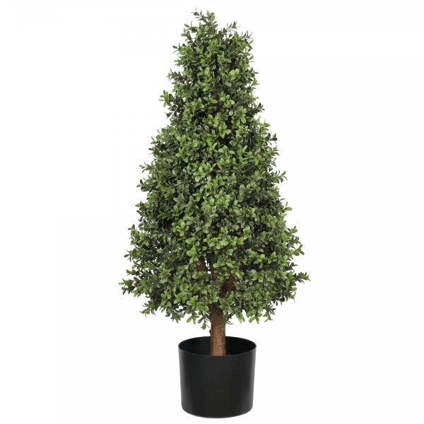 artificial buxus tower tree 0.9m 2