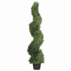 Artificial Cypress Spiral Tree