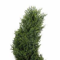 artificial cypress spiral tree 1.2m detail