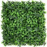 artificial ivy green living wall