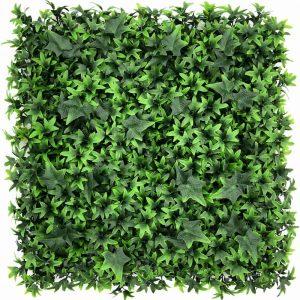 artificial ivy green living wall