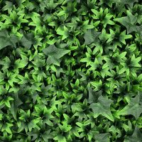 artificial ivy green living wall detail 1