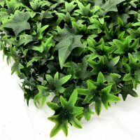 artificial ivy green living wall detail 2