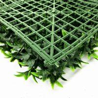 artificial ivy green living wall detail 4